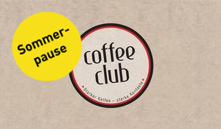 coffeeclub sommerpause