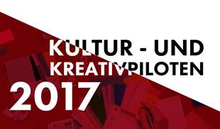 Kultur- und Kreativpiloten Deutschland 2017
